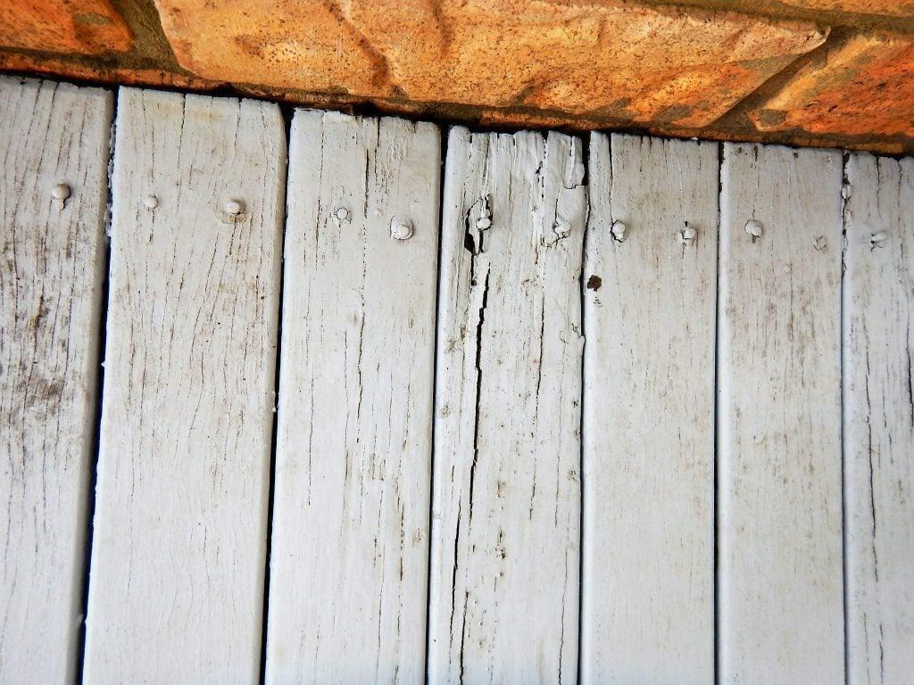 old decking
