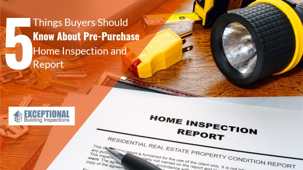 pre-purchase building inspections, pre-purchase building reports