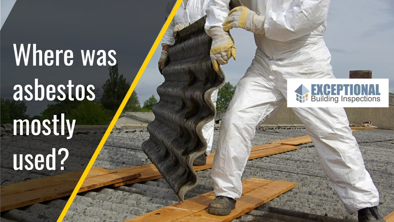 Most Common Materials that Use Asbestos -