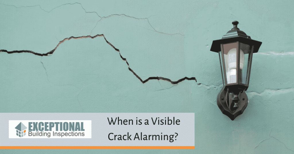 When is a Visible Crack Alarming?, Exceptional Building Inspections Newcastle (8)