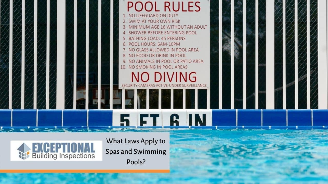 What Laws Apply to Spas and Swimming Pools?